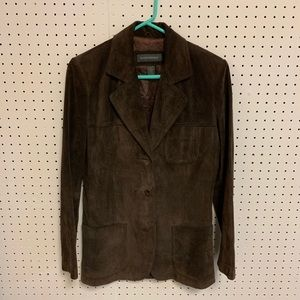 Banana Republic Women's Brown Leather Jacket